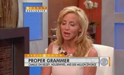 Insider: Camille Grammer All About Money, Money, Money