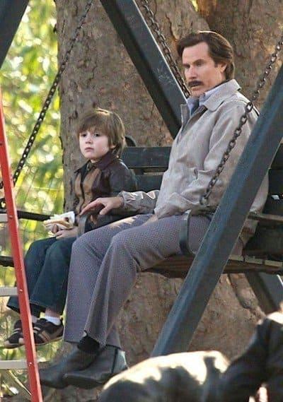 Anchorman 2 Set Photo: Ron Burgundy's Son? - The Hollywood ... | 400 x 569 jpeg 43kB