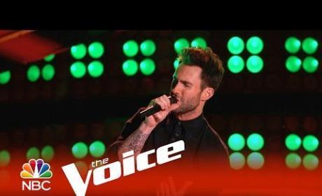 Adam Levine Blind Audition (The Voice)