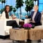 Rachel Lindsay and Ellen DeGeneres