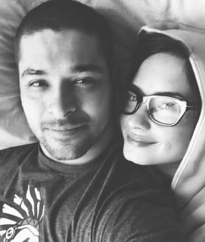 Demi Lovato and Wilmer Valderrama Anniversary Photo.