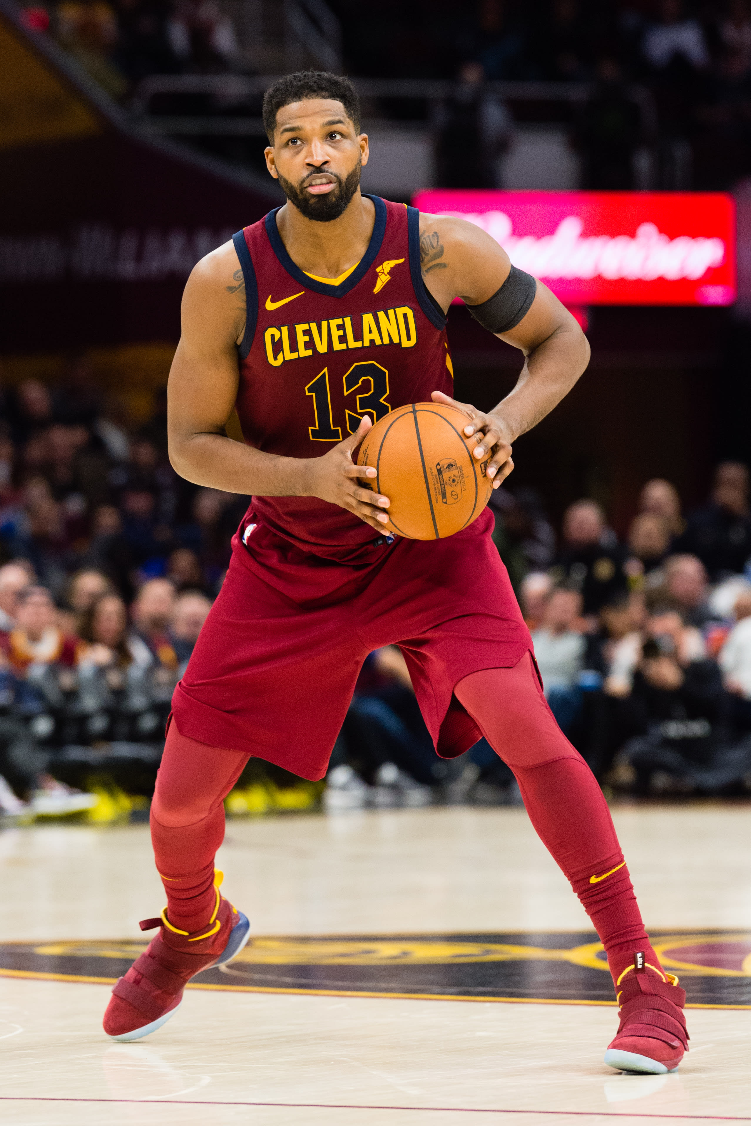Tristan Thompson Cavs Suffer Humiliating Playoff Upset The Hollywood Gossip