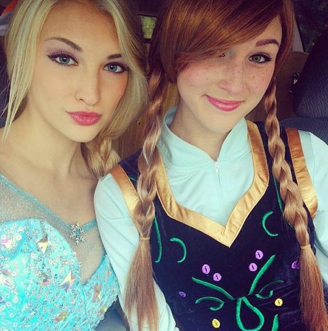 Pretend Elsa and Anna