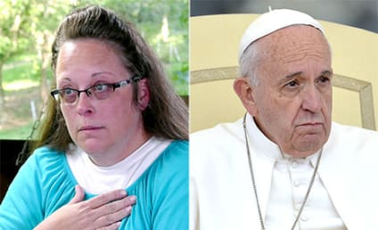 Kim Davis: Pope Francis Totally Supports Me!