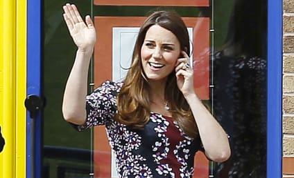 Kate Middleton Baby Bump Photos: Bigger, Cuter Than Ever!