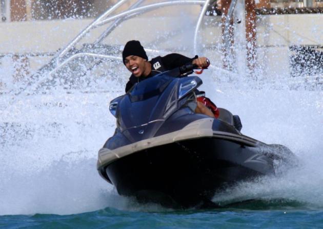 Jet Skiing Madman