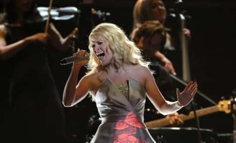 Carrie Underwood Grammys Dress