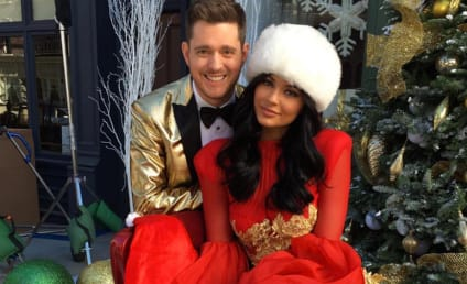 Kylie Jenner and Michael Buble: See Their Random Christmas Pic!