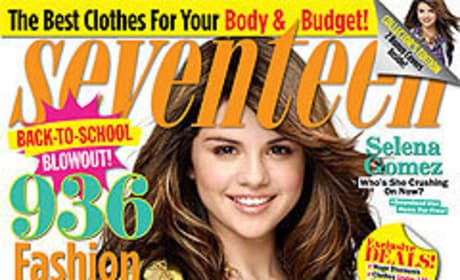 Selena on Seventeen