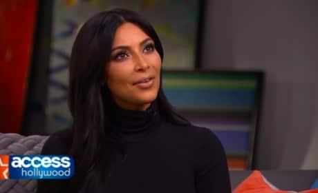 Kim Kardashian on Kanye: I Made the First Move!