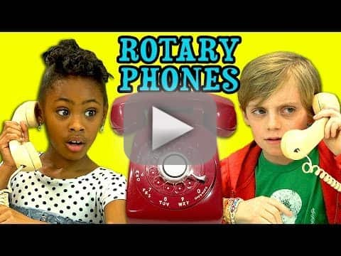 Kids Respond to Rotary Phones