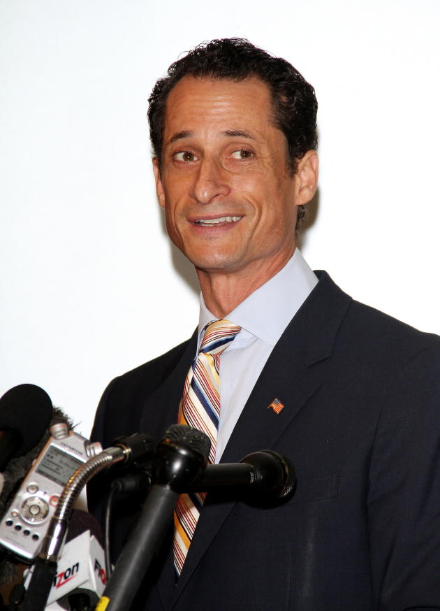 Anthony Weiner at the Mic