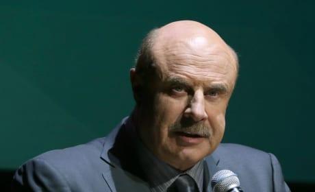 Dr. Phil at a Podium