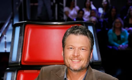 Blake Shelton is Ready for Battle