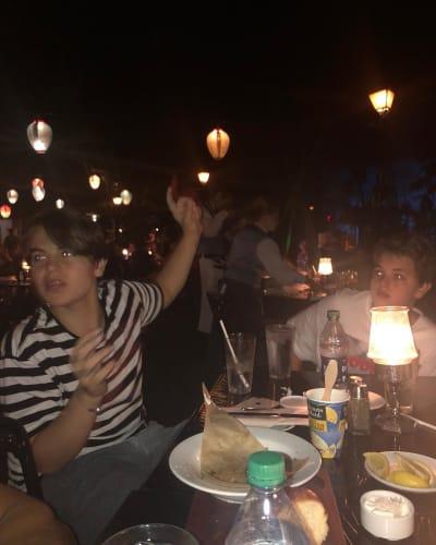 Sean Preston and Jayden James Dine at Disneyland