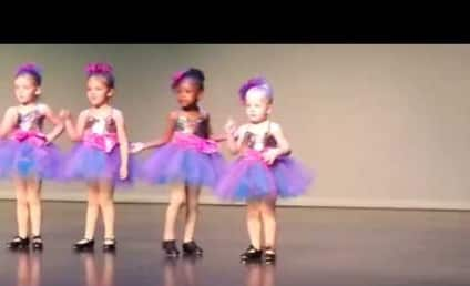 Little Girl Makes Up Tap Routine, Wins Dance Class and Internet