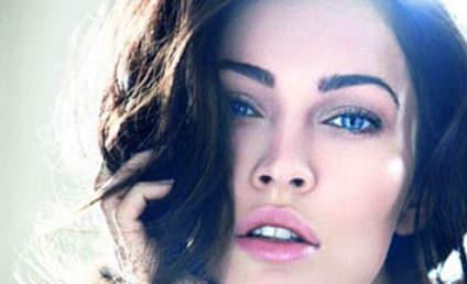 Megan Fox Gets Close Up for Giorgio Armani