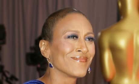 Robin Roberts at the Oscars