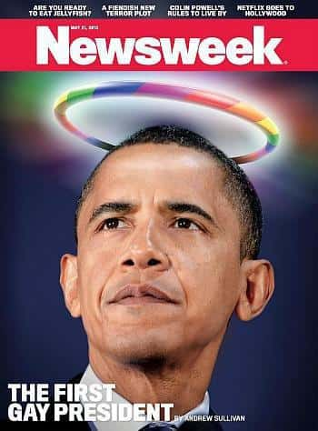Barack Obama Newsweek Cover