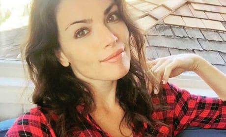 Courtney Robertson in Flannel
