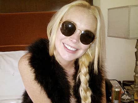 Lindsay Lohan, White Teeth