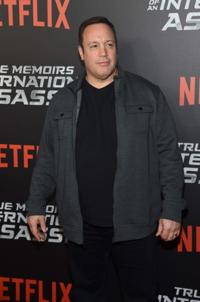 Kevin James Attends Event