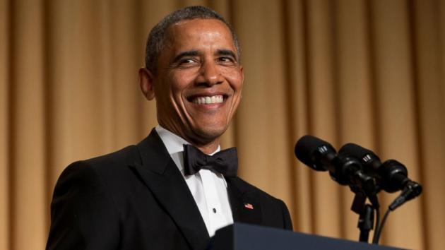 Obama at the White House Correspondents' Dinner