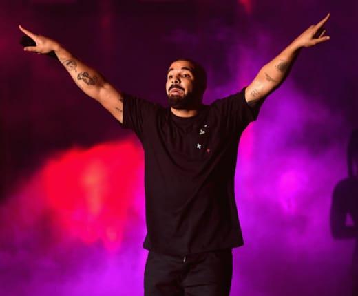 Drake Celebrates