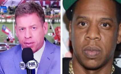 NFL Viewers Debate: Does Troy Aikman Look Like Jay Z?