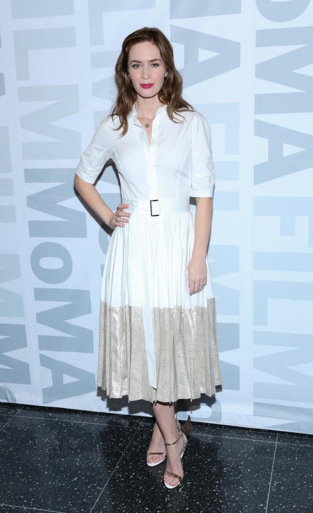 Emily Blunt: 'Sicario' Screening at MoMA