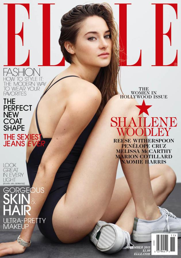 Shailene Woodley Elle Cover