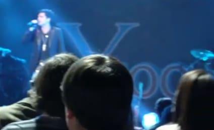 Adam Lambert at Y100 Jingle Ball: Performance Videos