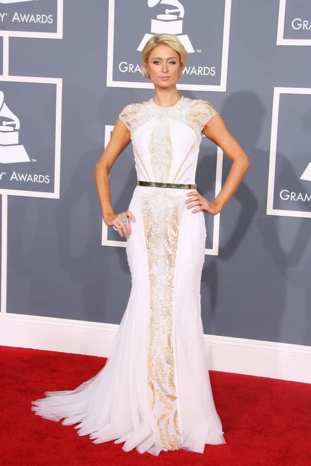 Paris Hilton at the Grammys
