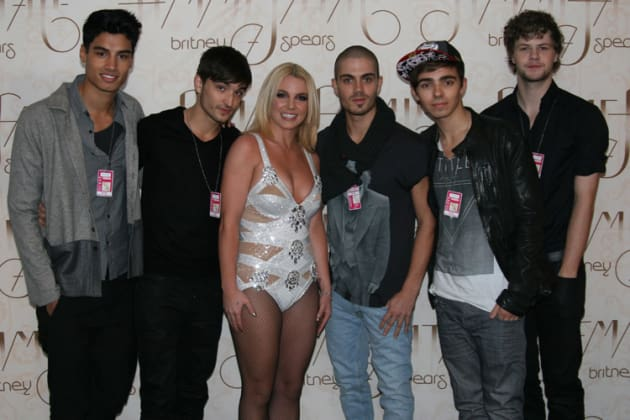 Britney Spears, The Wanted