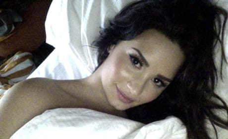 Demi in Bed
