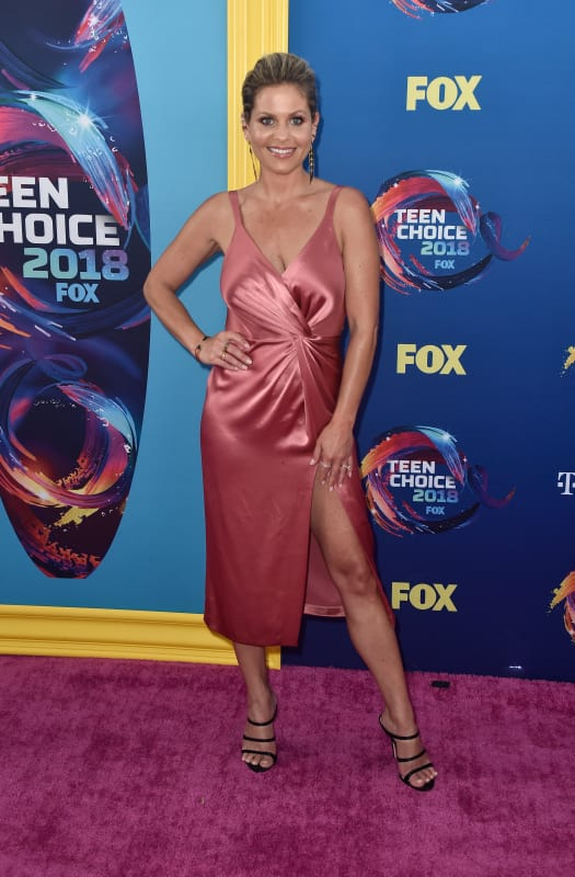 Candace cameron bure at the tcas