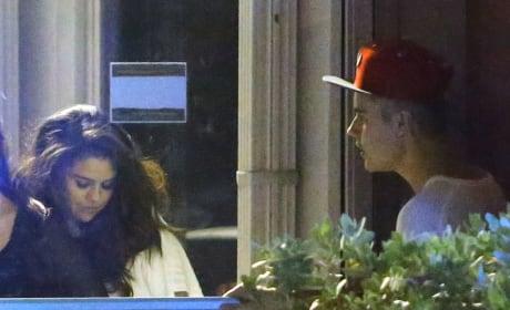 Selena Stumbles In