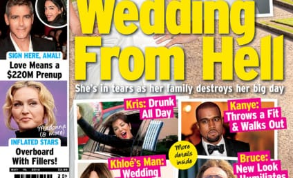 "Kim Kardashian Lashes Out at ""Super Lame"" Tabloid Cover"