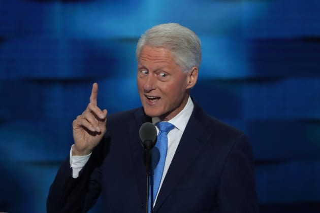 Bill Clinton DNC Photo