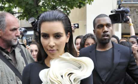 Hideous Kim Kardashian Dress