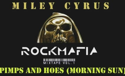 "Miley Cyrus Teams with Rock Mafia for ""Morning Sun"""