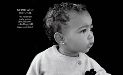 North West Makes Modeling Debut: See the Photo!