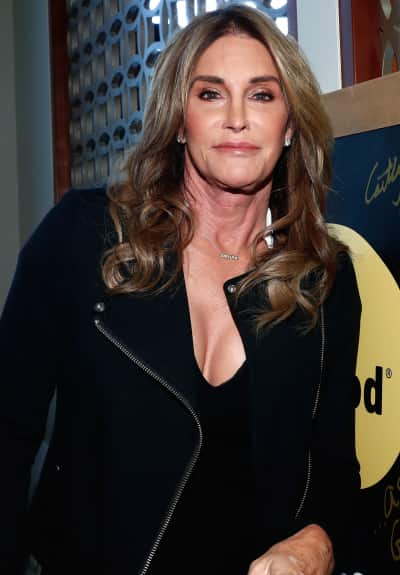 Caitlyn Jenner Strikes a Pose