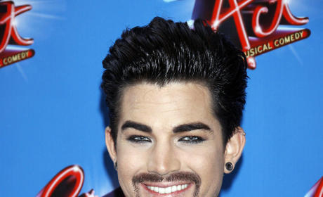 Adam Lambert's New Look