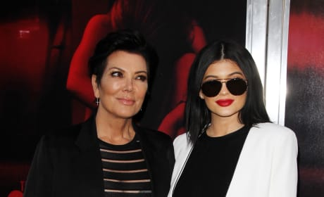 Kylie & Kris Jenner: 'The Gallows' Premiere