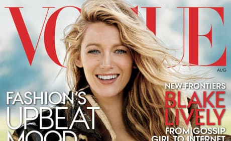 Blake Lively Vogue Magazine Cover
