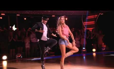 Sadie Robertson and Mark Ballas - Dancing With the Stars Week 2 Performance