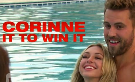 Corinne Olympios Topless on The Bachelor: My Dad Would Be Proud!!