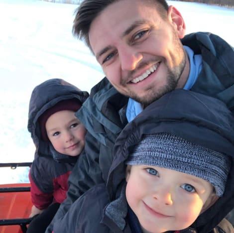Stephen Wissmann With Nephews