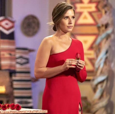 Katie Thurston Has a Rose